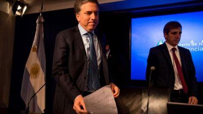 El ministro de Hacienda, Nicolás Dujovne, viajó ayer a Washington para comenzar las negociaciones con el FMI.