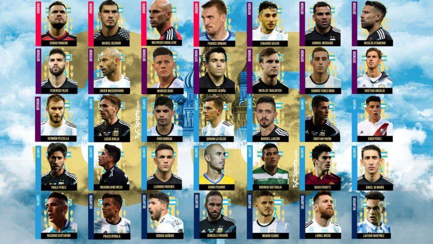 Ya están los 35 preseleccionados para el Mundial