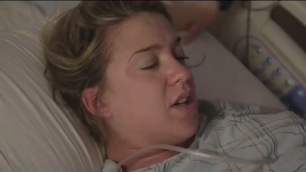 Conmovedor video de cuando Soledad Fandiño dio a luz a su hijo