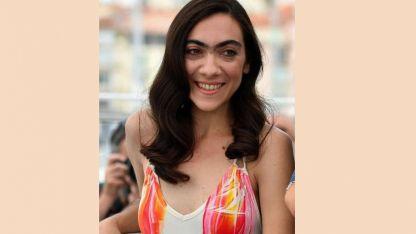 """Tania Casciani, en el """"photocall"""" previo a la presentación del film en Cannes."""