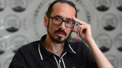 Sebatián Henríquez, titular del SUTE.
