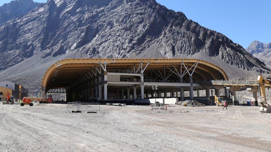 Video: así avanzan las obras en el nuevo complejo para entrar a Chile desde Mendoza