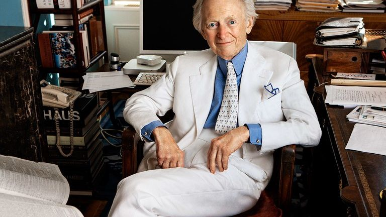 Murió Tom Wolfe, padre del