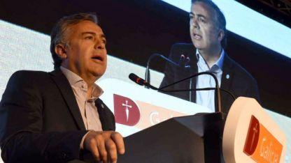 Cornejo participó ayer en el encuentro Buenos Negocios, del Banco Galicia.