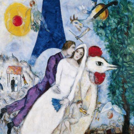Como un cuadro del viejo Chagall - Por Fabián Galdi