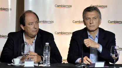 Con el mendocino Ernesto Sanz, Monzó y Frigerio más cerca, Macri busca ampliar su espalda política para afrontar la crisis.
