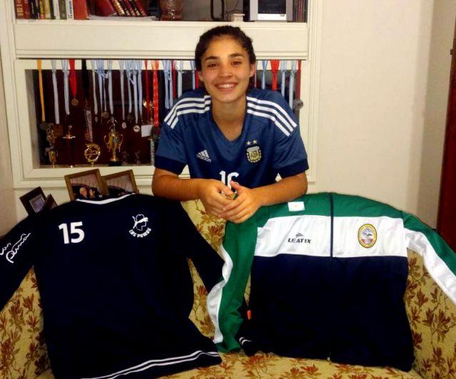 Chiara Singarella: la argentina más chica para los Juegos Odesur