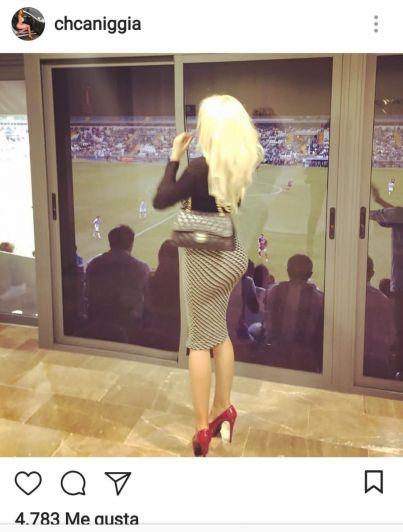 Charlotte Caniggia sorprendió en Instagram