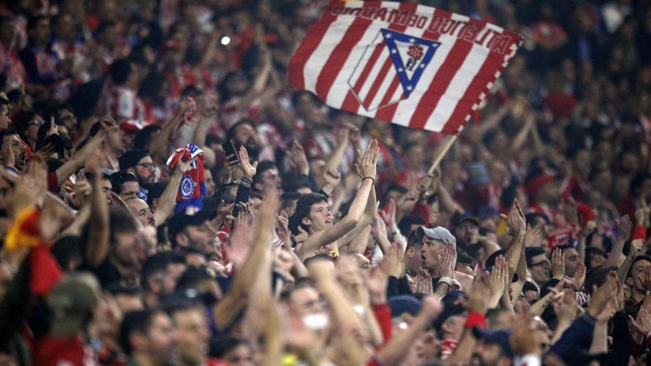 Los hijos de Simeone y una emotiva bandera en la gran final