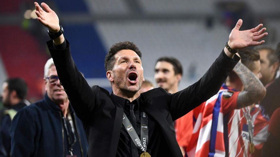 Simeone y su sexto título con el Atlético: