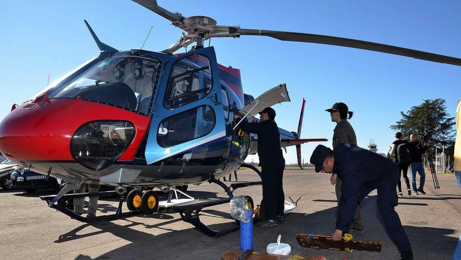 Durante más de 100 días Mendoza sólo tendrá un helicóptero disponible para operativos
