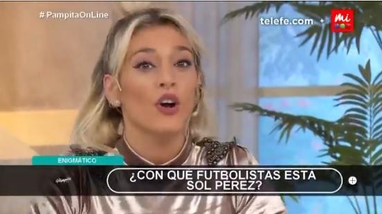 Sol Pérez confesó que está de novia con un jugador de la Selección Argentina