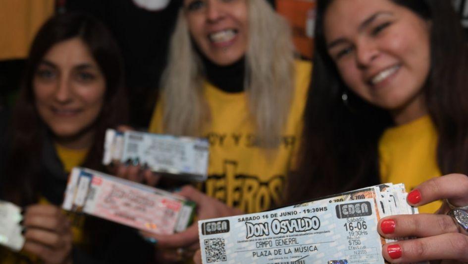 Revolución en el Centro de Mendoza por las entradas para el show de Don Osvaldo en Córdoba