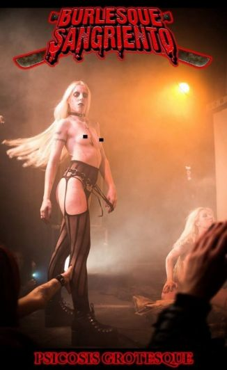 La docente que defendió a Hitler hacía un show stripper nazi
