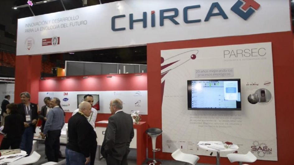 Chirca celebró en la Sitevinitech sus 40 años de trayectoria