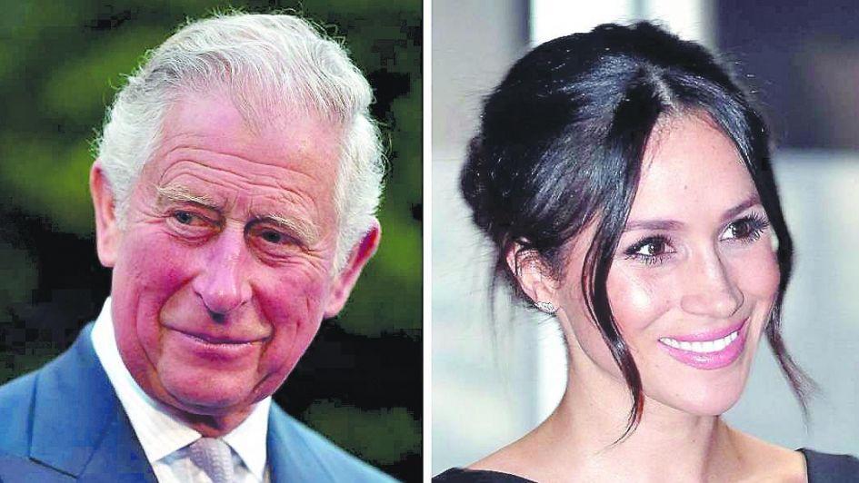 real: el príncipe Carlos llevará al altar a la novia de su hijo