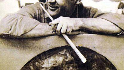 Enrique Sobisch, el artista apasionado por la pintura y la literatura.