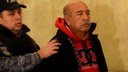 Ramón Martínez cuando le otorgaron la prisión domiciliaria, hace casi un año.