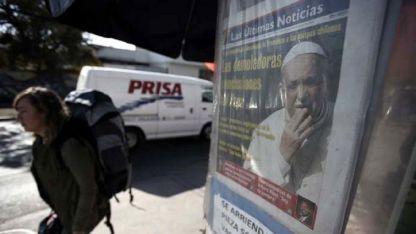 Los diarios chilenos reflejaron el escándalo.