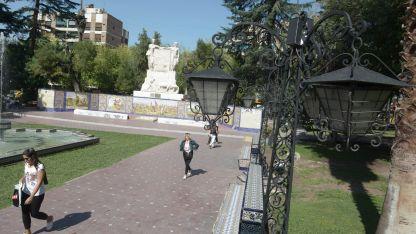 Plaza España.