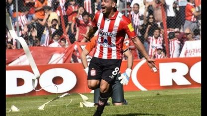 Juan Galeano, jugador de San Martín de Tucumán, uno de los candidatos al ascenso.