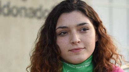Victoria (18). De pequeña la conmovió el caso Candela; hoy es parte de una agrupación feminista.