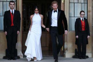 La novia lució dos vestidos. Ahora empieza con agenda oficial y la luna de miel deberá esperar unos días.