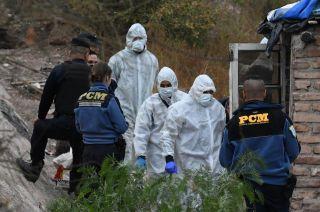 El cuerpo fue encontrado en la calle Segundo Sombra, al oeste de Godoy Cruz.