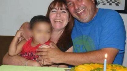 Sergio Gigliotti y Cristina Moria criaron al niño en el marco del programa