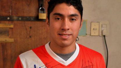 El ex futbolista Liuciano Cabral.