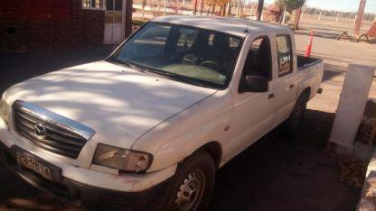 El vehículo quedó a disposición de aduana.