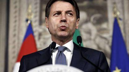 Conte, primer ministro de una coalición impensada entre la derecha y los antisistema.
