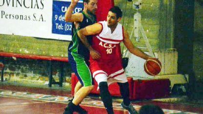 Manuel Palmieri con 19 puntos fue el mejor de ACSM.