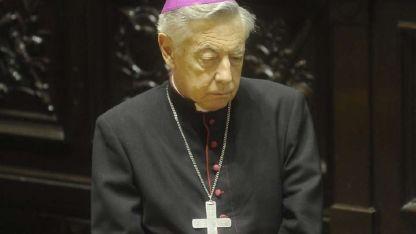 El arzobispo de La Plata, monseñor HéctorAguer.