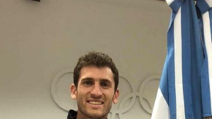 EL Adalid. Germán Chiaravigio, atleta de salto con garrocha.
