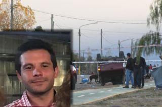 Alberto Petean y el escenario en que fue detenido.
