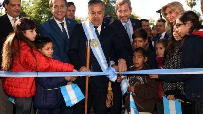 En momentos complejos, Cornejo y Frigerio buscaron mostrar unidad entre la Nación y la Provincia.