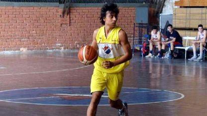 El juvenil Ezequiel Blanco (GSM) jugó un gran partido.