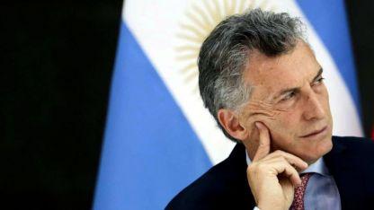 El presidente Mauricio Macri, durante los días de crisis cambiaria.