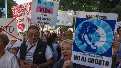 La manifestación en Mendoza fue multitudinaria