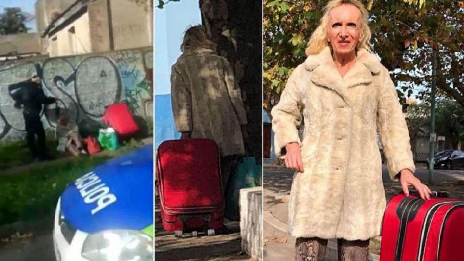 El duro presente de Zulma Lobato: la encontraron tirada en la calle con sus pertenencias