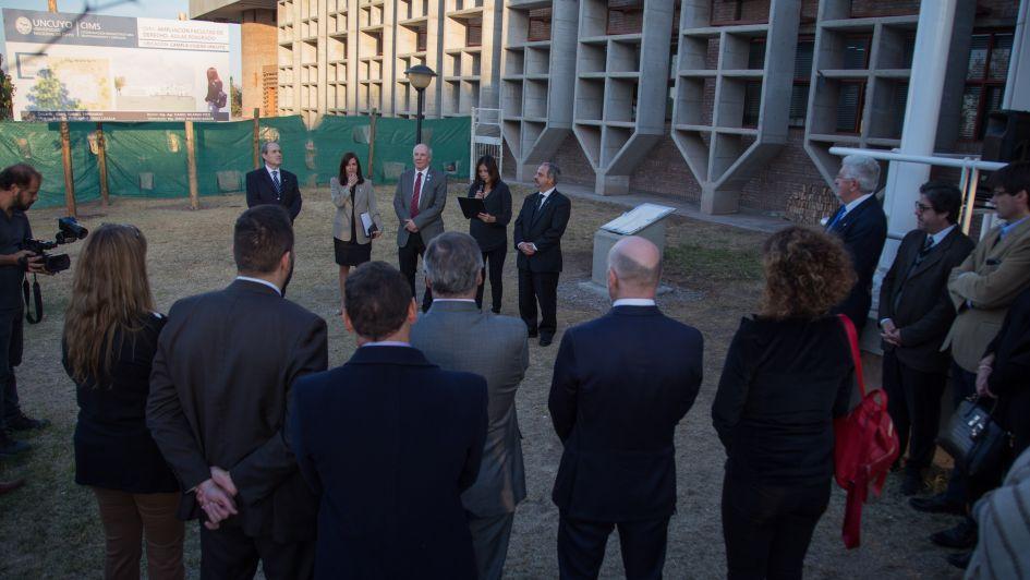 La facultad de Derecho de la UNCuyo presentó un gran proyecto para sus Posgrados
