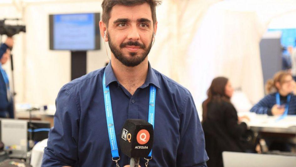 El periodista mendocino Pedro Fernández: ¡ya es una estrella!