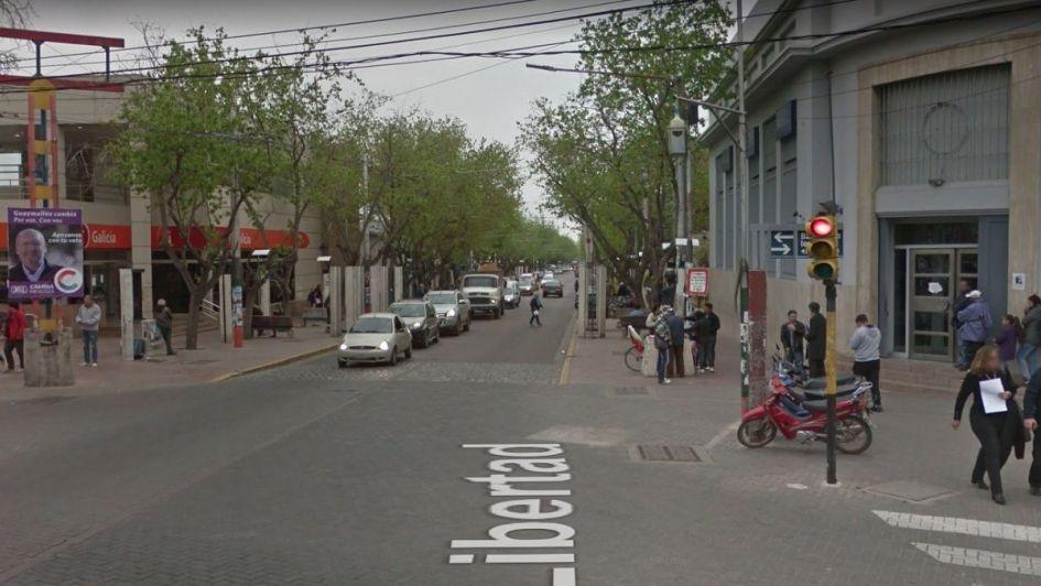 La calle Libertad de Guaymallén cambiará su sentido de circulación