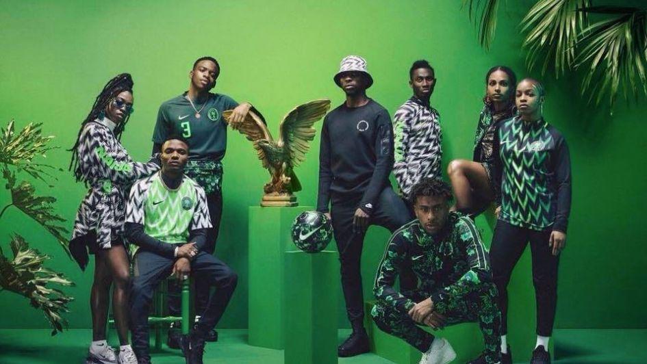 La camiseta de Nigeria es furor a días del Mundial: ventas récord