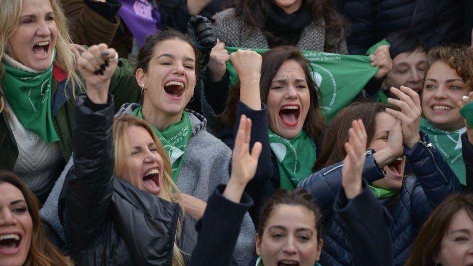 #NiUnaMenos en Córdoba marchó a favor del aborto legal