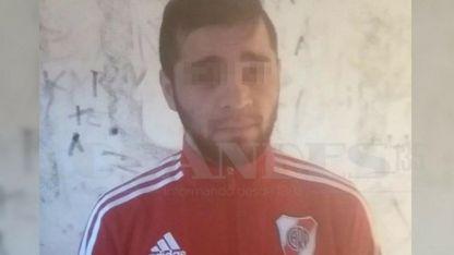 Barrera Zárata escapó al ver a los policías.