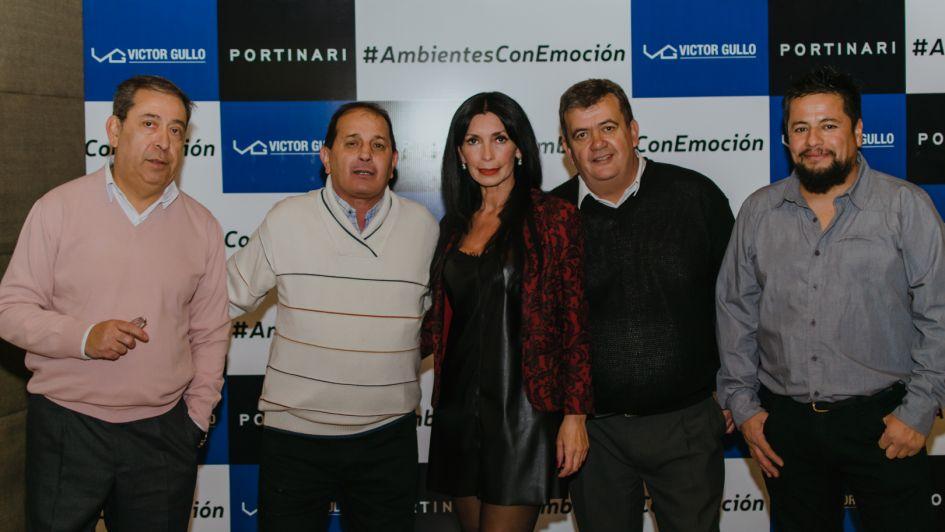 Víctor Gullo presentó su nueva colección de Portinari