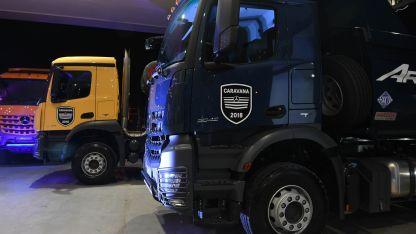 Ambos modelos pasaron con la Caravana 2018 por Mendoza y fueron probados en el autódromo Jorge Ángel Pena.