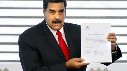 El presidente venezolano ve su propia realidad.